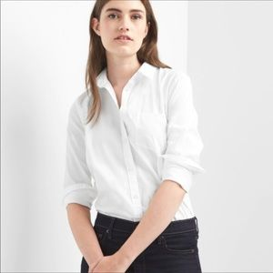 Classic Fitted Boyfriend Oxford Shirt